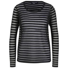PATRIZIA DINI Damen Pullover schwarz/metallic