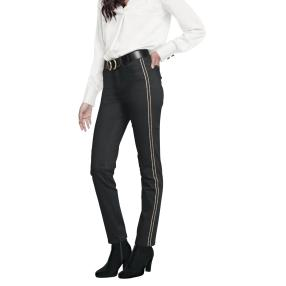 rick cardona Damen Jeans L30 schwarz