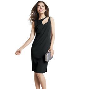rick cardona Damen festliches Kleid schwarz