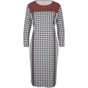 rick cardona Damen Kleid mit Druck multicolor
