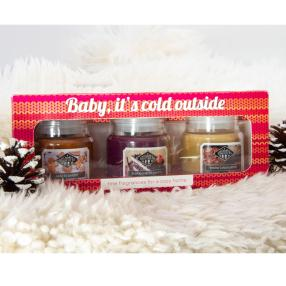 Candle Brothers Duftkerzen-Set 'It's cold outside'