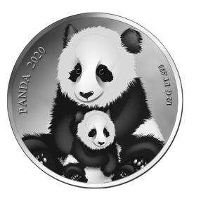 Platinklassiker Panda 2020