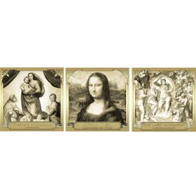 Goldbanknotenset 'Berühmte Gemälde'