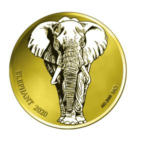 Goldklassiker Elefant 2020