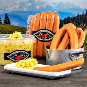Wienerle mit Kartoffelsalat 1230g