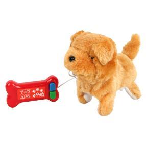 Laufhund mit Fernlenkung, braun