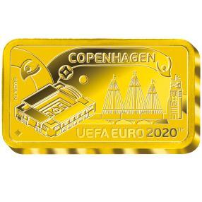 UEFA EURO 2020™ Kopenhagen, Goldbarren