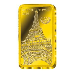Goldbarren Eiffelturm 2019