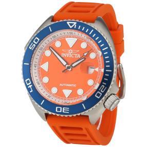 """INVICTA Herren-Automatikuhr """"Pro Diver"""", orange"""