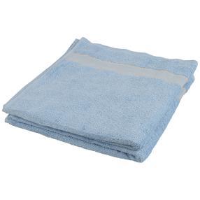 Duschtuch 2tlg. Bordüre blau 70x140 cm