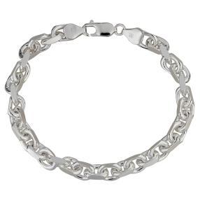 Ankerarmband 925 Silber, ca. 20 cm