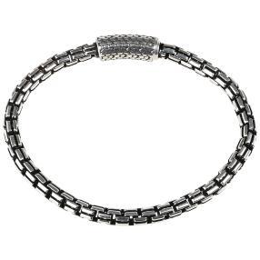 Venezianerarmband 925 Sterling Silber, ca. 21cm