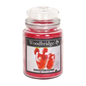 Woodbridge Duftkerze Erdbeere-Prosecco 565g