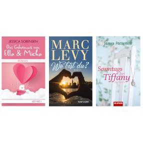 Buch 3er Paket - Romantik