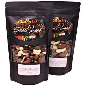 Nüsse&Früchtemix in belgischer Schokolade