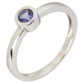 Ring 950 Platin AAAA Tansanit