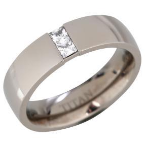 Titan Ring Zirkonia