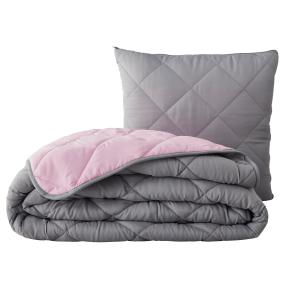 Verwandlungskissen Magic Pillow 200x200cm grau