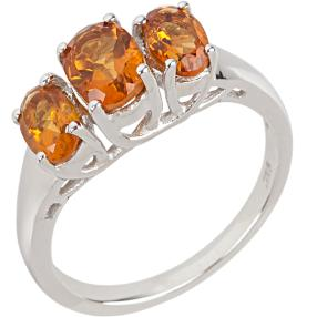 Ring 925 Sterling Silber Madeira AAACitrin
