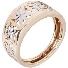Ring 585 GG bicolor