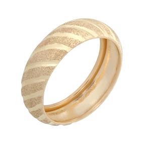 Ring 375 Gelbgold, poliert und diamantiert