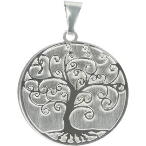 Anhänger 925 Sterling Silber Baum des Lebens