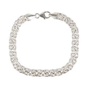Königsarmband 950 Silber, ca. 19,5 cm