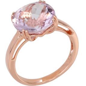 Ring 925 Sterling Silber rosévergoldet Amethyst