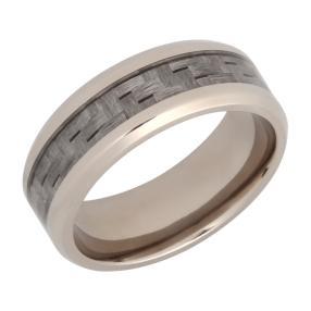 Ring Titan, mit grauem Carboninlay