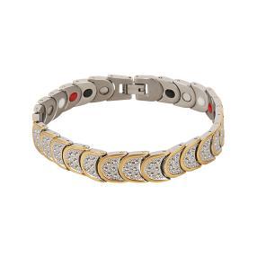 Armband Titan bicolor, gold/silber
