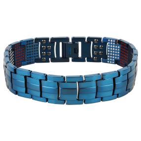 Armband Titan blau