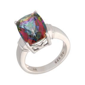 Ring 925 Sterling Silber Mystic Quarz