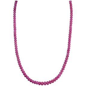 STAR Collier Pink Saphir, ca. 48 cm