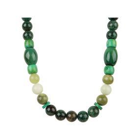 Collier Jade, Amazonit