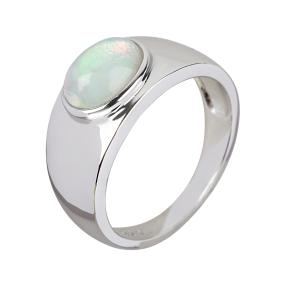 Ring 925 Sterling Silber Äthiopischer Opal