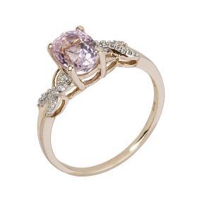Ring 375 Gelbgold Kunzit