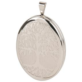 "Medaillon 925 Sterling Silber ""Baum des Lebens"""