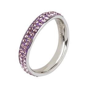 Ring Edelstahl, Swarovski Elements