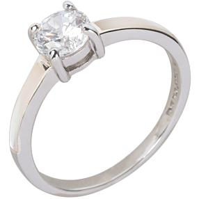 Ring 925 Sterling Silber Perlmutt Zirkonia