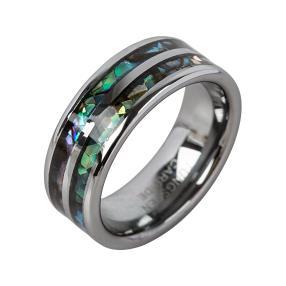 Ring Wolfram, Abalone Muschel