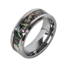 Ring Wolfram Abalone Muschel