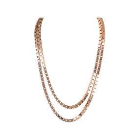 Venizianerkette Bronze rosévergoldet
