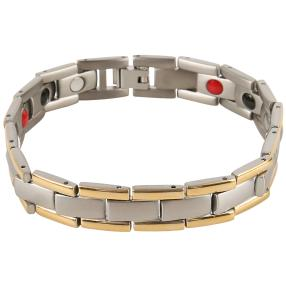Armband Titan bicolor, mit Magneten