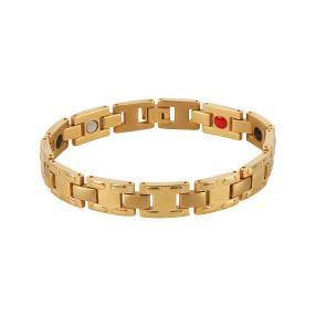 Armband Titan vergoldet, mit Magneten