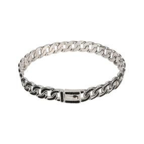 Panzerarmband 925 Sterling Silber, Spinell