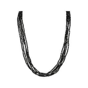 Spinellcollier 5-reihig, ca. 45 cm