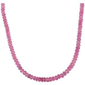 STAR Collier pink Saphir