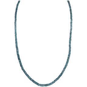 Collier London Blue Topas behandelt 925 St. Silber
