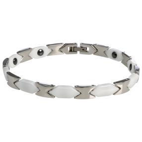 Armband Edelstahl/Keramik