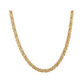 Königskette Bronze vergoldet ca. 60 cm